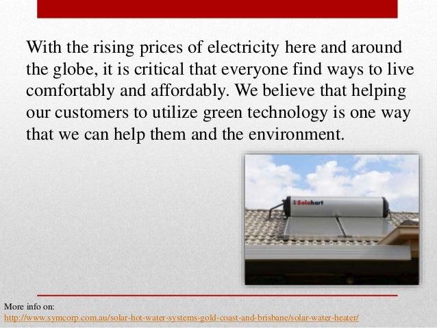 Information Regarding Solar Water Heaters