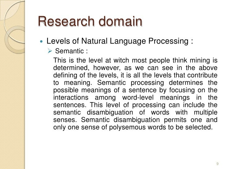 levels of processing semantic processing and Levels of processing estimated time to complete lab: 35 minutes background in the 1960s, the most common view of memory was that it consisted of a series of memory stores, including sensory memory, short-term memory, and long-term memory.