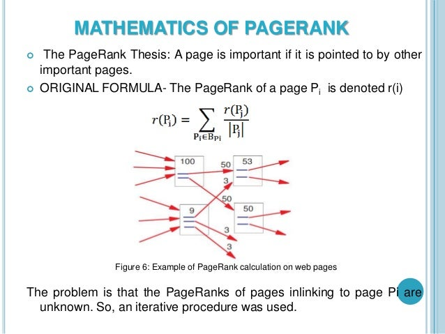 pagerank thesis Kahn mason detecting collud- ers in pagerank finding slow mixing states in a  markov chain thesis (phd), stanford univer- sity, stanford, ca, usa, 2005.