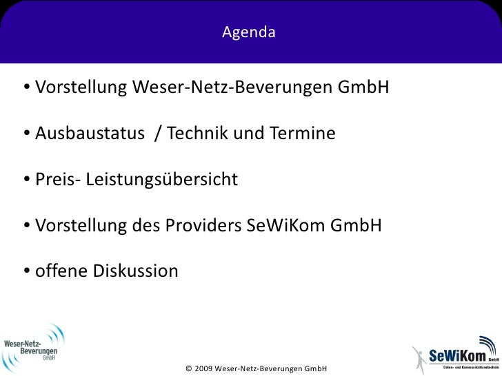 Informationsveranstaltung Weser-Netz Slide 2