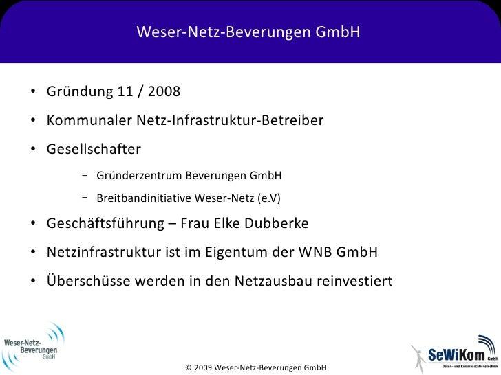Informationsveranstaltung Weser-Netz Slide 3