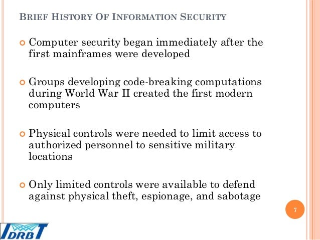history of information security A chief information security officer (ciso) is the senior-level executive within an organization responsible for establishing and maintaining the enterprise vision, strategy, and program to ensure information assets and technologies are adequately protected.