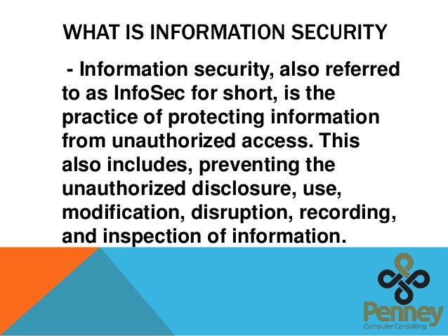 explain why it is important to have secure systems for recording and storing information By 2015, everyone in england will have access to their gp medical records  online  your records contain personal information, so it's important to keep  them safe  explains how to access your records safely, keep them secure, and  share them  record systems are designed so that your information is secure  however.