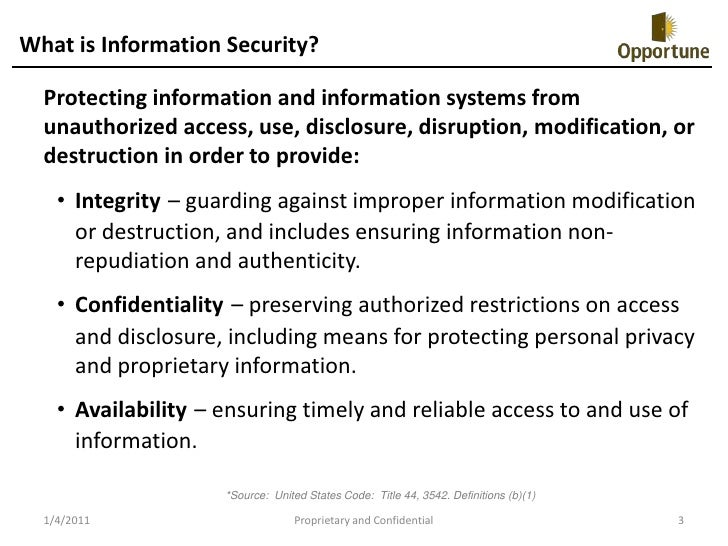 Information systems security survey essay