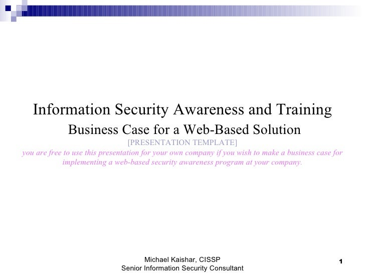 Case report business course