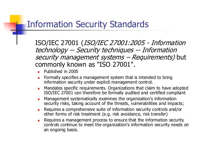 Information Security Importance Of Having Defined Policy