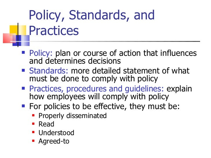 basic measures policy statement and securities Without a security policy, the availability of your network can be compromised   we recommend creating usage policy statements that outline users' roles  for  further security measures, such as creating an appropriate strategy  any  change to simple network management protocol (snmp) configuration.