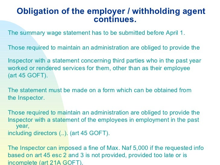tax withheld emp oyee declaration form