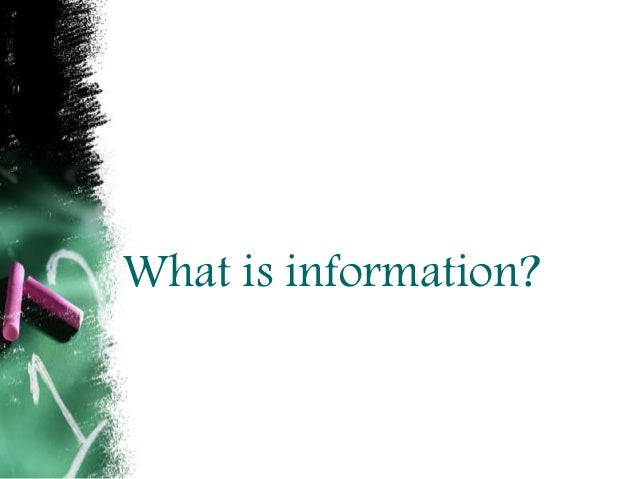 Information society Slide 3