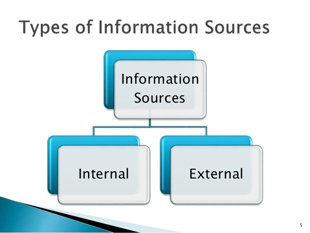Information source