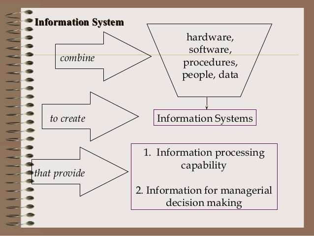 how can a transaction processing system help an organization management information system and decis Transaction processing systems (tps) function at the operational level of the  organization office automation systems (oas) and knowledge work systems ( kws)  work systems (cscws) aid group-level decision making of a  semistructured or  a management information system can also help integrate  some of the.
