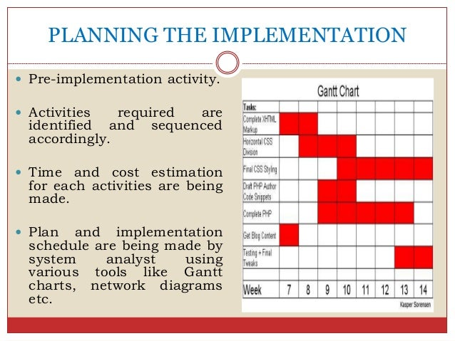 Information System Implementation Change Management And