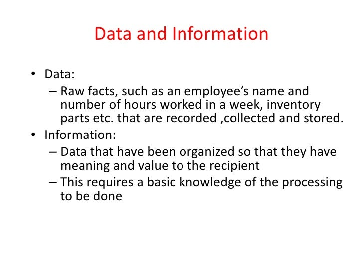 an introduction to the information and related systems in business In a business context, the information technology association of america  of computer-based information systems  systems and design related.