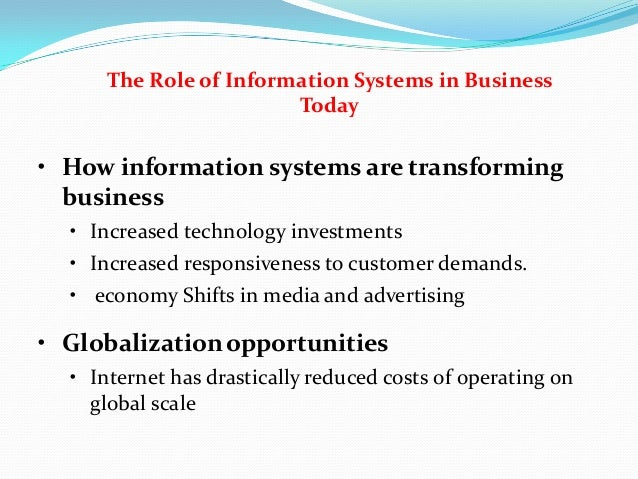 information system flexibility and the cost efficiency of business processes essay Information system  their business processes and must continuously assess the efficiency and effectiveness of these processes to minimize cost and.