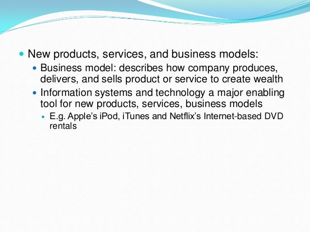 information systems and organization modern enterprise Enterprise resource planning (erp) is the integrated management of core business processes,  the erp system integrates varied organizational systems and facilitates error-free transactions and production, thereby enhancing the organization's efficiency  data takes many forms in the modern enterprise, including documents, files, forms, audio and video, and emails.