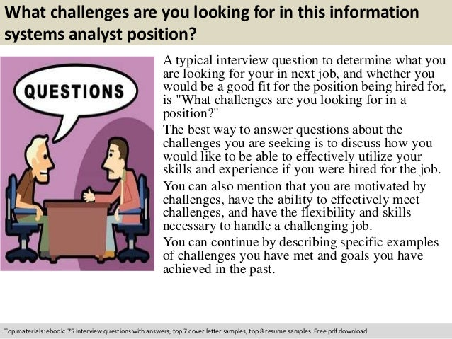 system analyst interview questions and answers