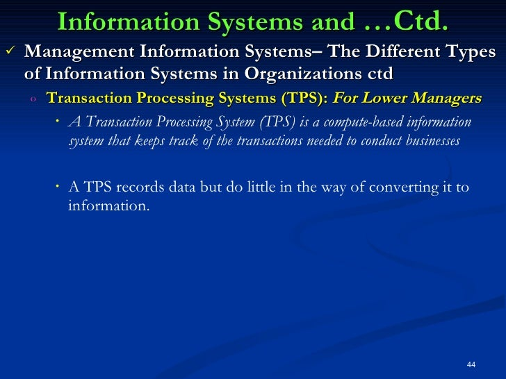 information systems in organisations essay Accounting information systems have three basic functions:  of data concerning  an organization's financial activities, including getting the transaction data from.