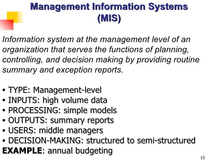 an analysis of the characteristics of management information systems Need to complete information systems analysis for an information management project and want practical suggestions to ensure rapid project delivery.