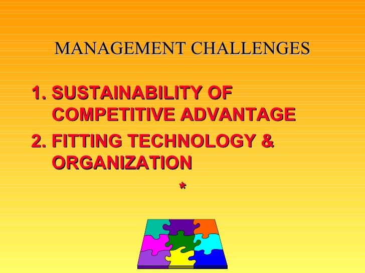 management challenges with information systems Overcoming challenges to implementing performance management by michael j mucha ments in performance management systems if there is no clear and defini.