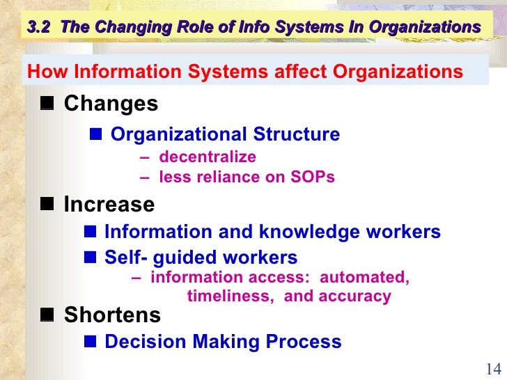 Information systems and organizations for insurance