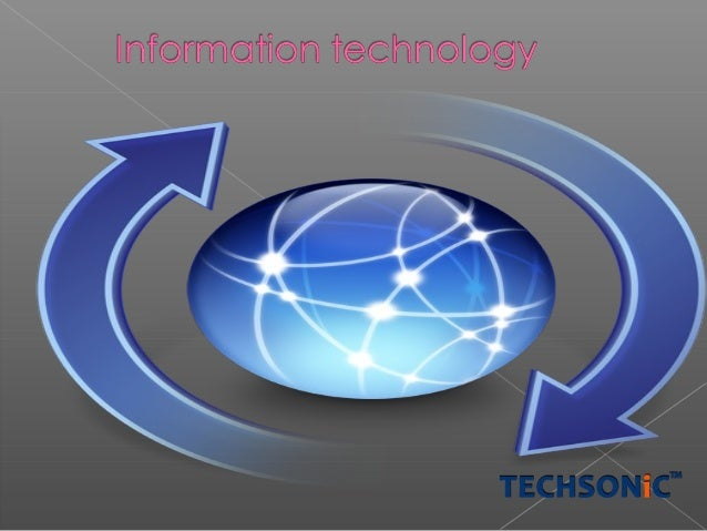 Information Technology is Known as Information Communication Technology 1. Micro film 2. COM Computer Output Medium 3. Vid...