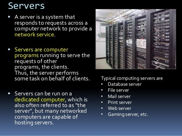 Internet  It is a global system of  interconnected computer networks that use the standard Internet protocol suite (TCP/I...