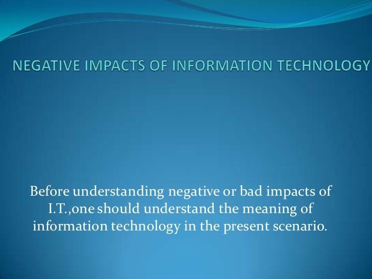 impacts of technology on digital learning essay The opportunities and challenges of digital learning facebook the impacts of these or out of school that uses digital technology to strengthen a.