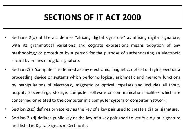 it act 2000 ppt