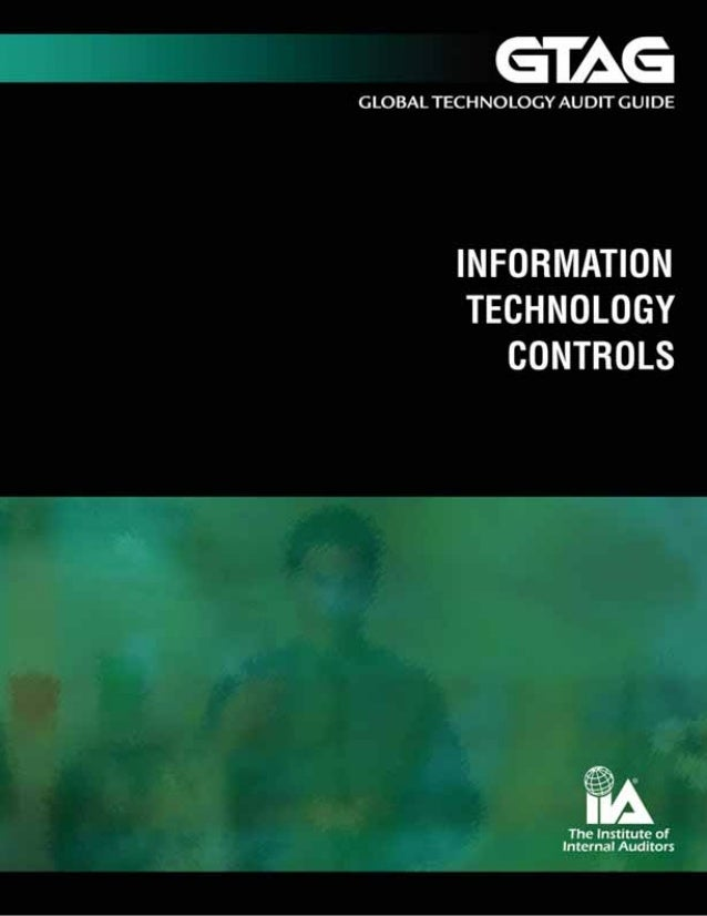 Information Technology Controls  A uditing Application Controls  Authors David A. Richards, CIA, President, The IIA Alan S...