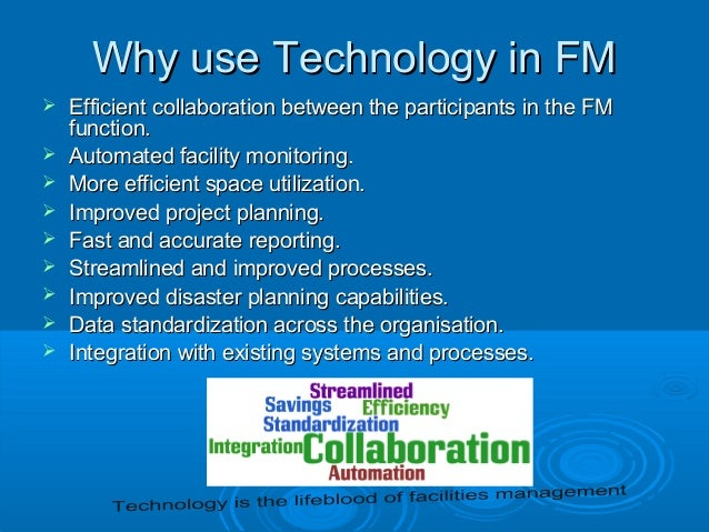Technology Management Image: Information Technology For Facilities Management