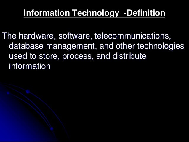 Technology Management Image: Information Technology For Management And Business