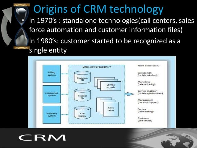 information technology and customer relationship management Relationships with key customers and customer segments in his opinion crm  unites the potential of information technologies and relationship marketing.