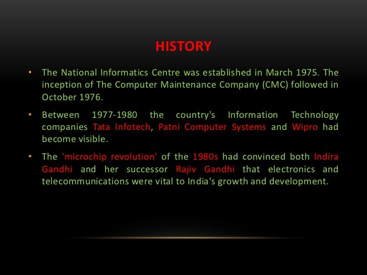 the indian information technology industry Comments from typical computer engineer who is not successful in indian it industry, passed out from xyz engineering college in india if everything is bad in indian it industry how all the.