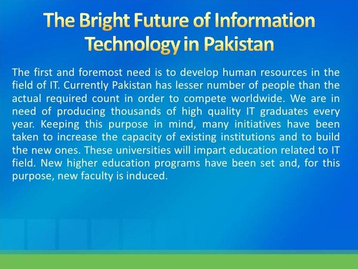 information technology in pakistan