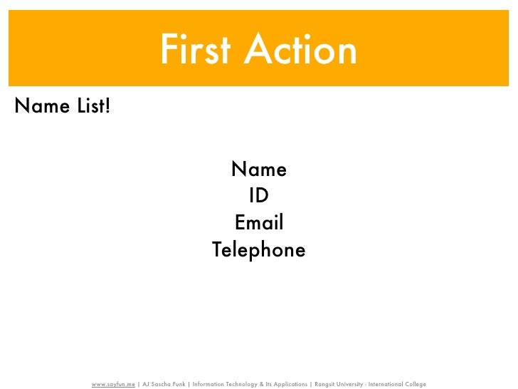 First ActionName List!                                                    Name                                            ...