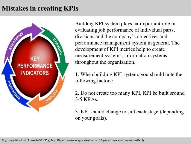 Information technology kpi examples