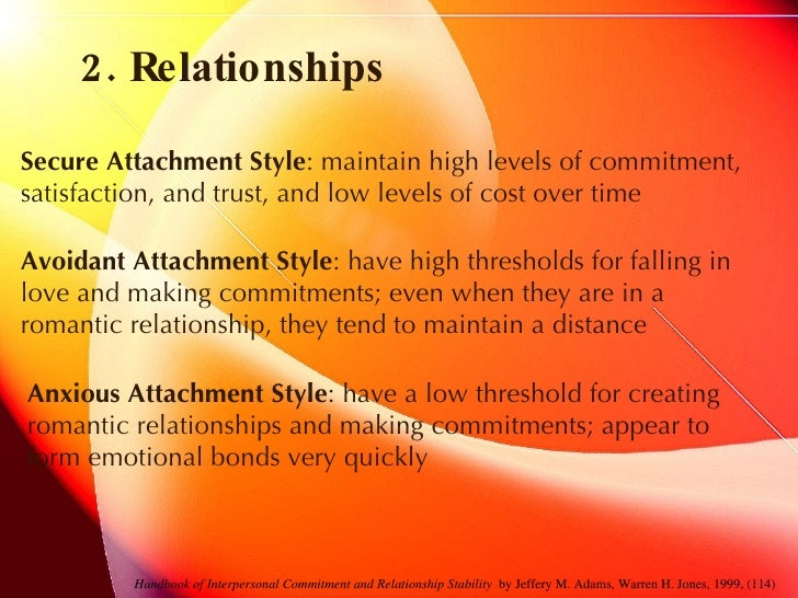 psychological theories of romantic relationships Sometimes, love isn't enough to sustain a relationship in this lesson, we discuss the importance of equality in a relationship by defining equity theory.