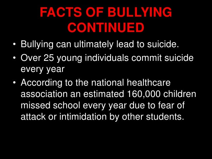 the case against bullying in schools essay Bullying has become a hot topic in schools and the workplace this has   however, the reality of the situation is that no single act can prevent bullying   schools and workplaces can target the problem by organizing an anti-bullying  day.