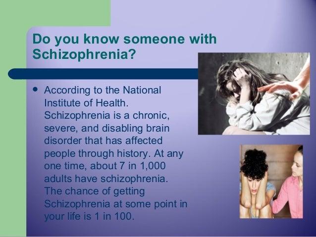Informative speech schizophrenia powerpoint speech