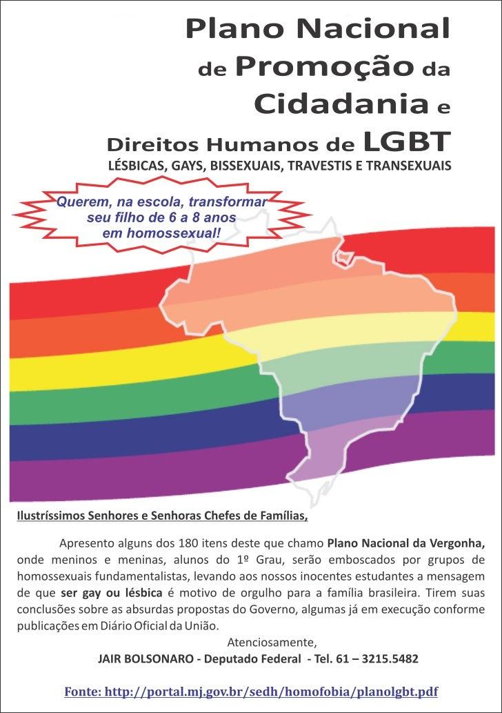 Informativo kit gay