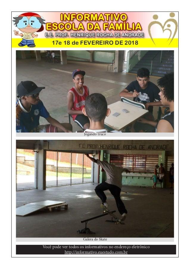 17e 18 de FEVEREIRO DE 2018 Voc� pode ver todos os informativos no endere�o eletr�nico http://informativo.euestudo.com.br ...