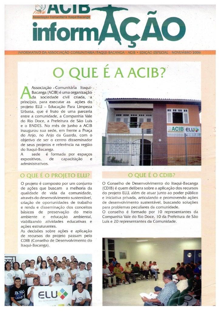Informativo especial nov 2006