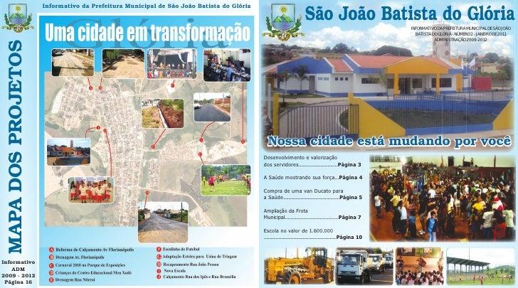 Informativo da Prefeitura Municipal de São João Batista do Glória                                                         ...