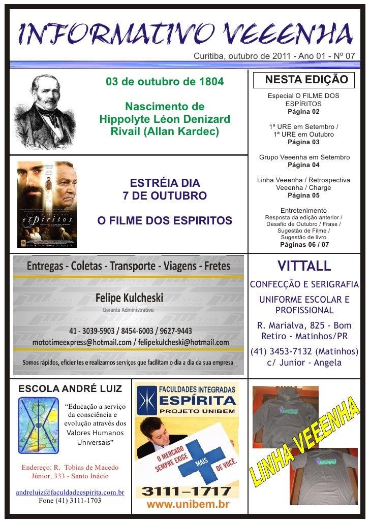 Informativo Veeenha - Outubro/2011 edição 07