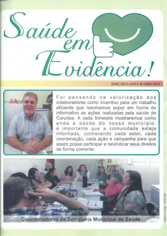 Informativo saúde em evidência