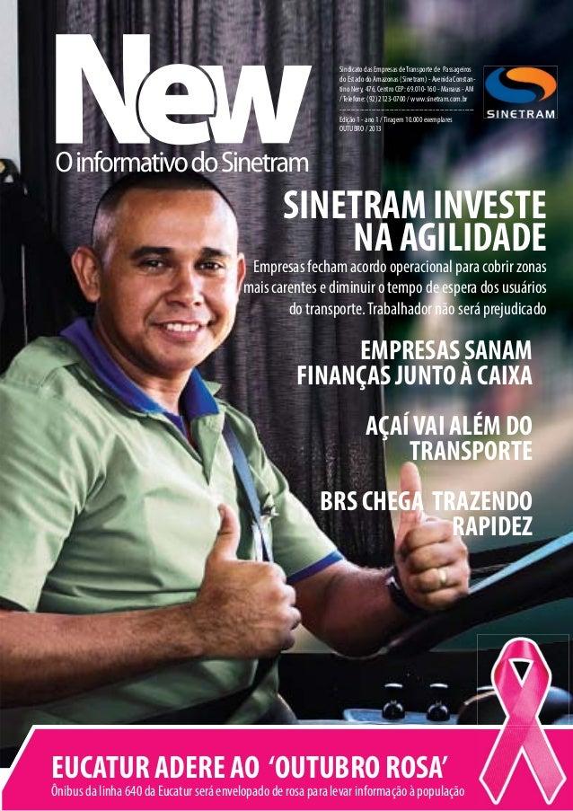 Sindicato das Empresas de Transporte de Passageiros do Estado do Amazonas (Sinetram) - Avenida Constantino Nery, 476, Cent...
