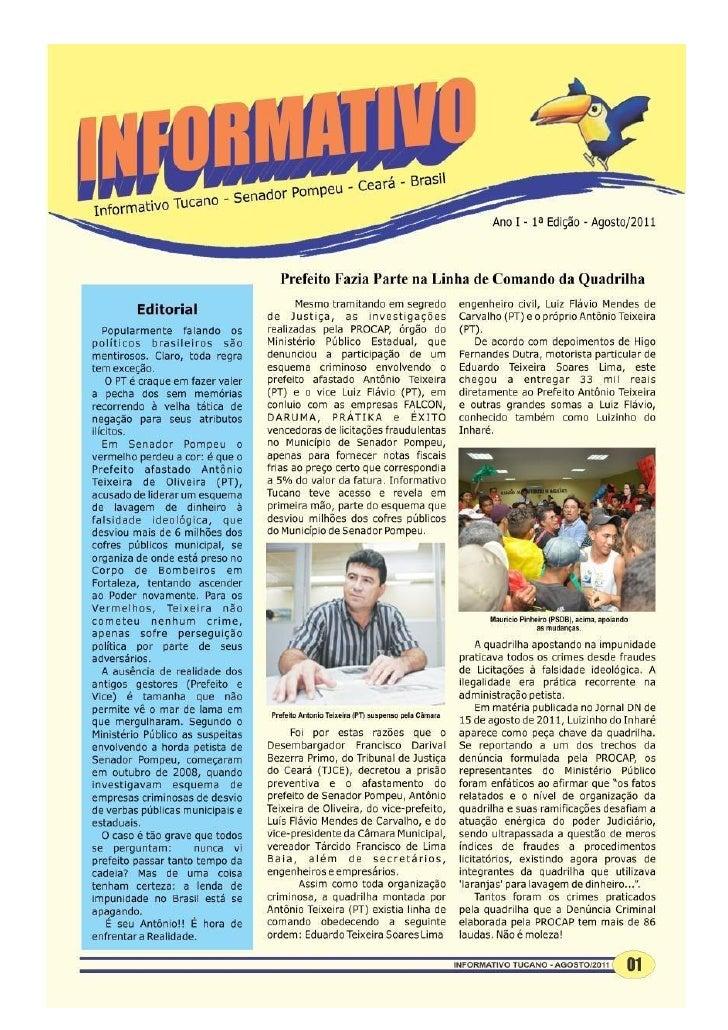 Informativo Tucano 2011