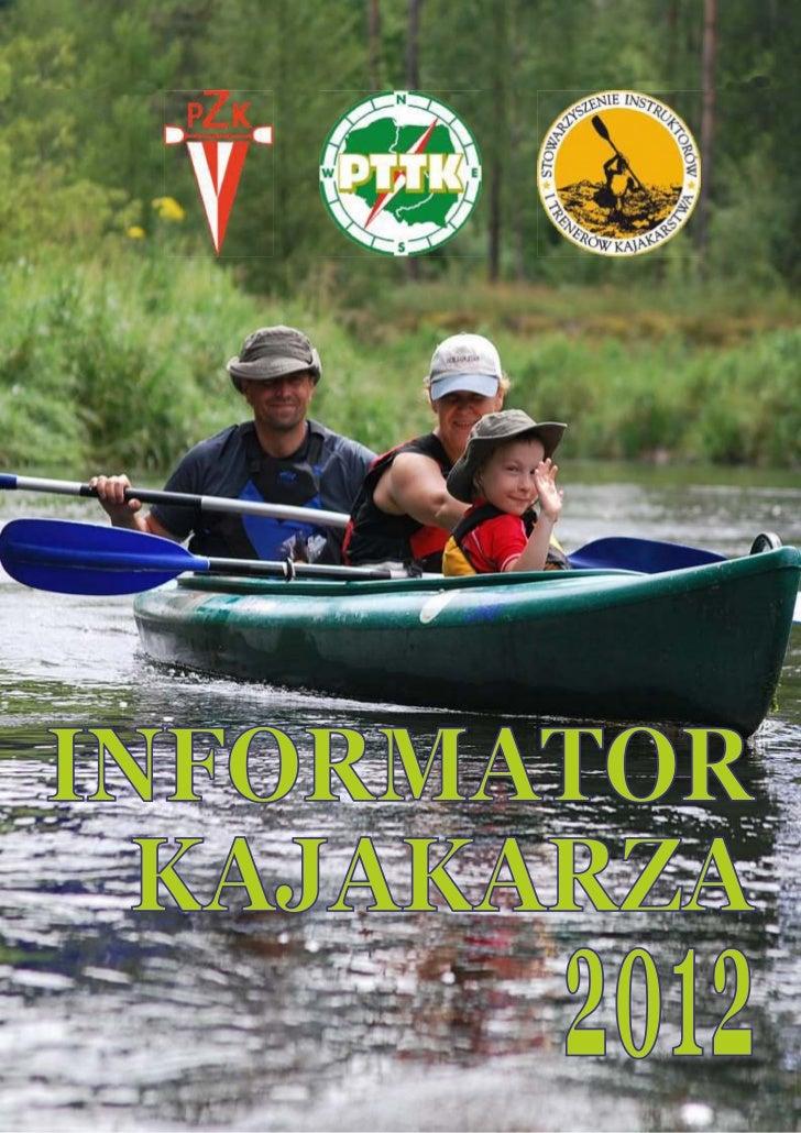 INFORMATOR  KAJAKARZA        2012