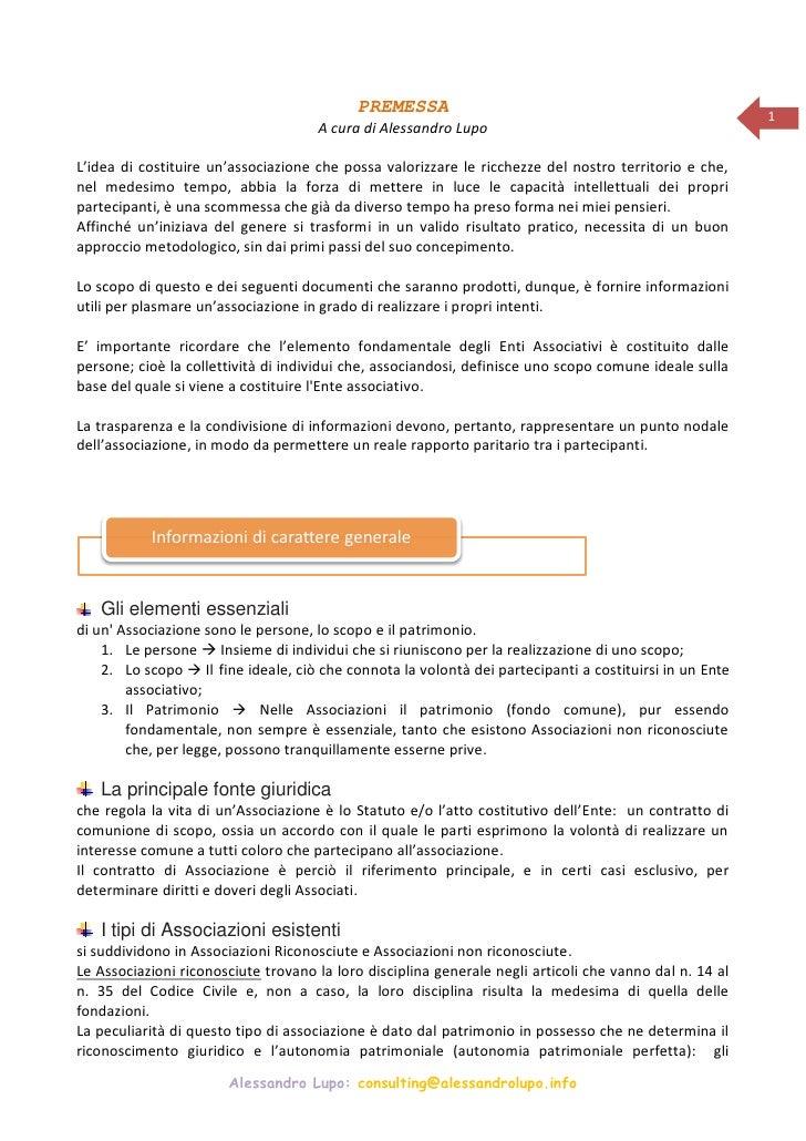 PREMESSA                                                      1                                      A cura di Alessandro ...