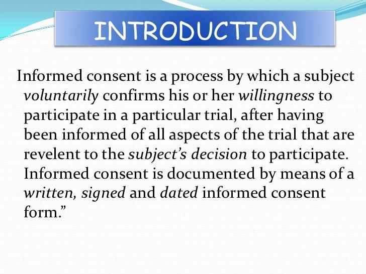 Inform consent , M k sharma Slide 3